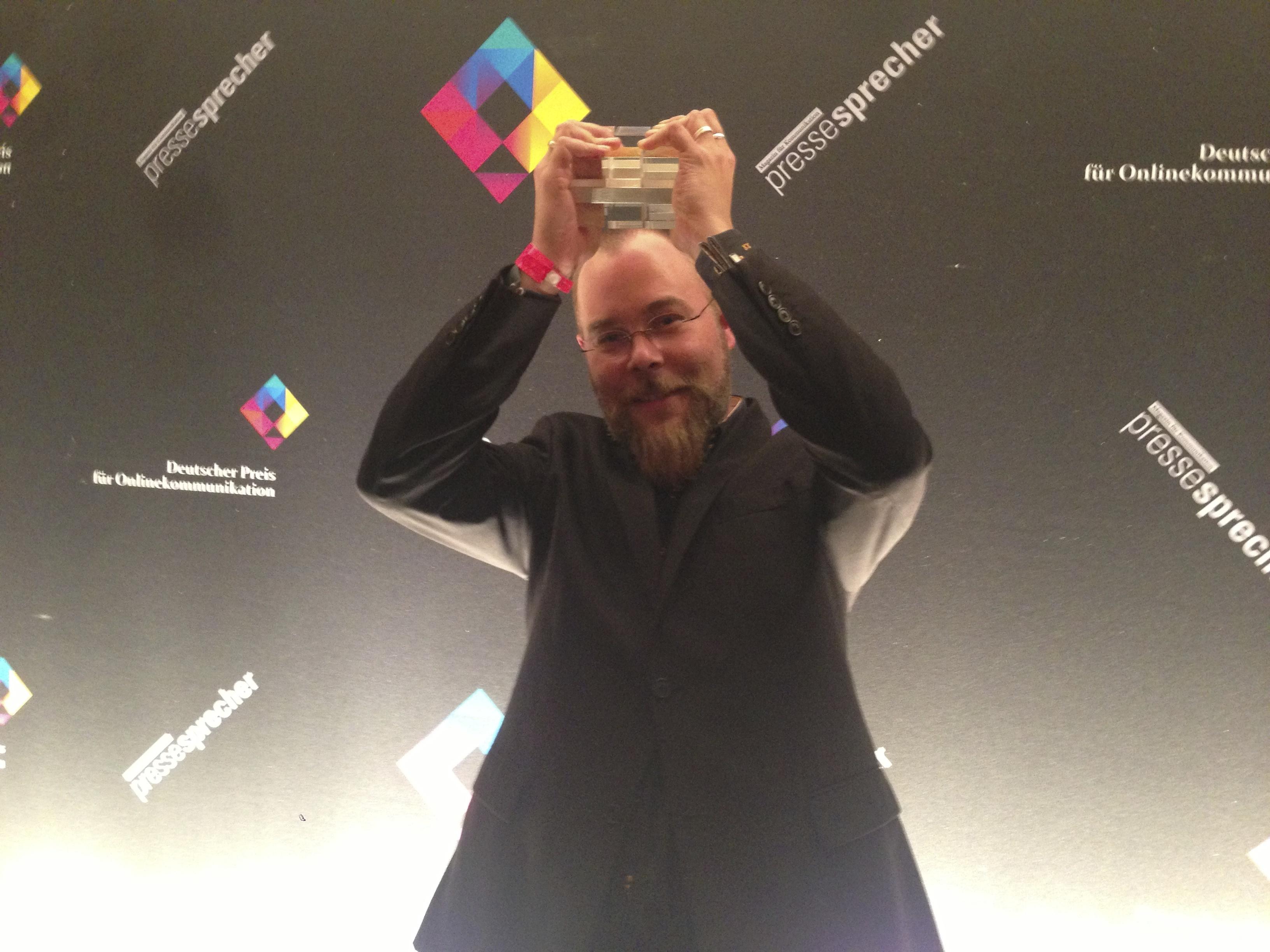 Deutscher Preis für Onlinekommunikation 2013