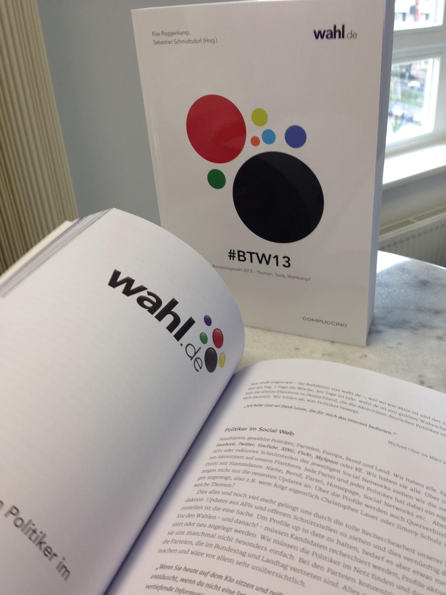 #BTW13 - Das Buch zur Bundestagswahl